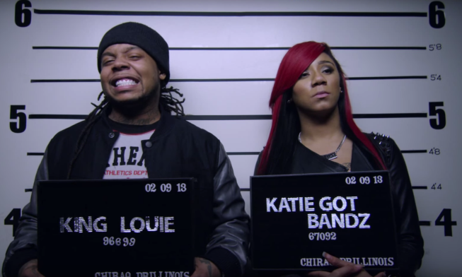 POP OUT – KATIE GOT BANDZ FT. KING LOUIE